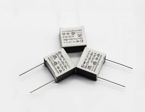 AC Capacitors for capacitive divider