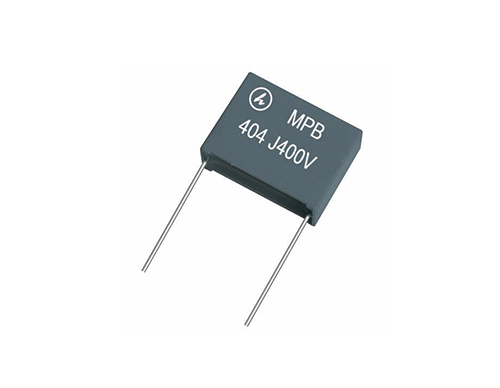 High frequency film capacitor for LC oscillating circuit